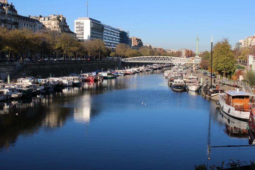 Port de l'Arsenal, près de la place de la Bastille