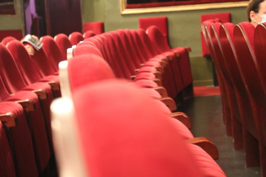 Sièges du théâtre du Gymnase